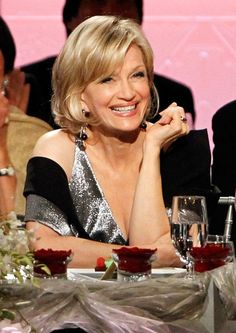 Diane Sawyer. One of the most beautiful, smart, sweet women as well as powerful.