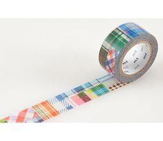 Washi Tape Patchwork Japanese MT Tape Plaid Stickers by ModernTape, $6.25
