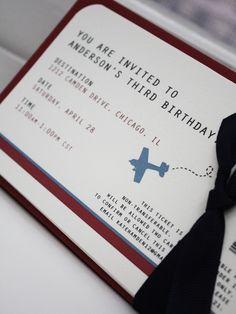 plane ticket invites....something like this?