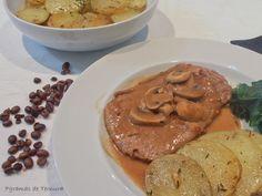 7gramas de ternura: Bife com Molho de Café e Cogumelos