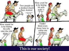 The Way Our Society Thinks