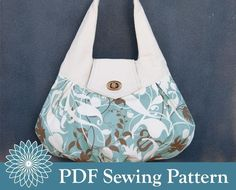 totes and purses patterns | ... purse or bag with free purse patterns to sew make sewn bags and purses