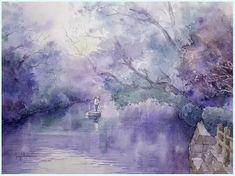 Japonský malíř - Seigo Kawasaki Kiyoharu      安靜地欣賞100幅安靜的水彩畫