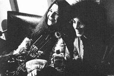 Janis Joplin with Noel Redding (The Jimi Hendrix Experience) photo by © Jim…