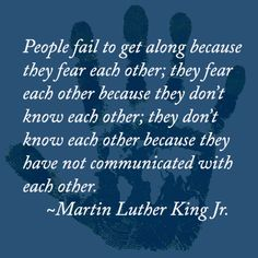 In Honor of Martin Luther King Jr and what he stood for. Don't let labels define you or others.