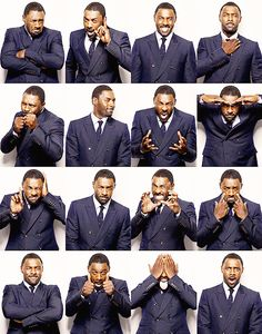 The gift of perfect photobooth technique. | 19 Gifts Idris Elba Gave The World