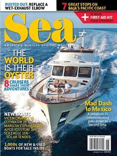 RewardsGold Free Subscription to Sea Magazine - CA, OR and WA Mailing Addresses Only