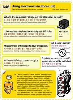 (646) Using electronics in Korea (III)