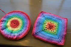 Crocheted potholders side 2