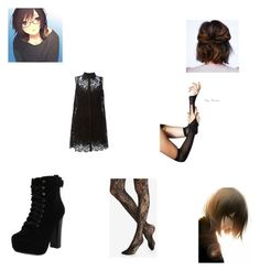 nightmare [school] by kawaiibunly on Polyvore featuring Dolce&Gabbana, Express and Chelsea Crew