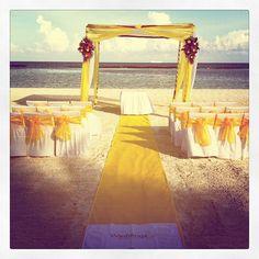 Yellow Beach Ceremony