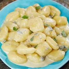Gnocchi mit Gorgonzolacreme - Ein Rezept für Prep&Cook von KRUPS Prep & Cook, Gnocchi, Pasta Salad, Creme, Prepping, Cooking, Ethnic Recipes, Food, Easy Meals