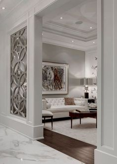 Claustra Walls for Your Interior Decor: Yes or No? Claustra Walls for Your Interior Decor: Yes or No? Living Room Designs, Living Room Decor, Living Spaces, Living Rooms, Bedroom Designs, Kitchen Living, Bedroom Decor, Home Interior Design, Interior Decorating
