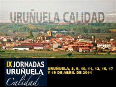 """#Uruñuela celebrará las IX Jornadas de """"Uruñuela Calidad"""" con un amplio #programa de #charlas, #catas y #actividades en torno al mundo del #vino. #LaRioja"""