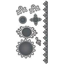 Image result for spellbinders ironworks cards