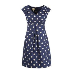 Joules Nadine Mazie Spot Dress - I think I will always have a thing for dots & stripes!