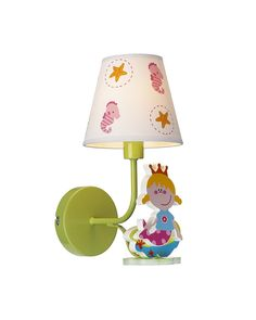 Mermaid Princess Wall Sconce for Children's Room