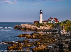 Portland Head Lighthouse. Definitely take the walking path that goes along the water. It offers spectacular views of the lighthouse. It's free