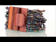 Kyokya Schmuck - Glasperlenarmbänder und Halsketten aus Holz