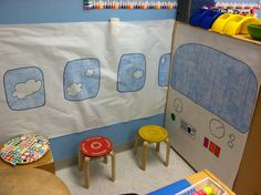 My airplane DP turned out so cute!!! #Kindergarten