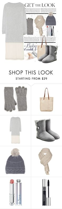 """""""Baby its cold outside"""" by conch-lady ❤ liked on Polyvore featuring UGG, Maison Margiela and Christian Dior"""