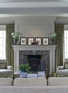 I think this would be a cool idea for a fireplace, but a little more country feel to it.