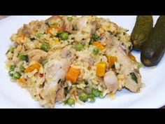 Rizses csirke zöldségesen - YouTube Fried Rice, Risotto, Fries, The Creator, Ethnic Recipes, Youtube, Food, Meals, Nasi Goreng