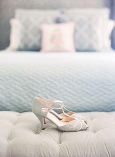 Rachel Simpson Peep Toes Vintage Wedding Shoes