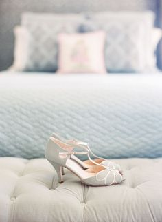 Rachel Simpson Peep Toes Vintage Wedding Shoes