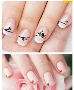 Manicure romantica Manicure, Nails, Beauty, Finger Nails, Nail Bar, Ongles, Polish, Manicures, Beauty Illustration