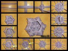 Risultati immagini per halloween newspaper weaving Sun Paper, Paper Stars, Paper Weaving, Weaving Art, Straw Crafts, Magazine Crafts, Weaving Designs, Newspaper Crafts, Paper Basket