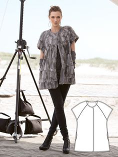 Read the article 'Sandstorm: 9 New Women's Sewing Patterns' in the BurdaStyle blog 'Daily Thread'.