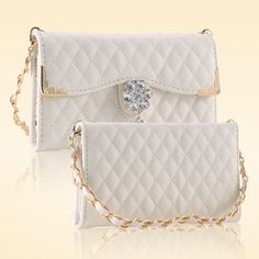 Cheap case for iphone, Buy Quality leather case directly from China case for iphone 6 Suppliers: KISSCASE Luxury Diamond Wallet Leather Case For iPhone 6 6 Plus Plus Fashion Women Lattice Pattern PU Metal Chain Cover Iphone 6, Iphone Cases, Leather Cell Phone Cases, Cell Phone Covers, Mini Handbags, Phone Wallet, Leather Cover, Metal Chain, 6s Plus