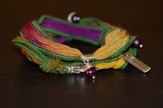 GardenMiracle warrior wrap with fresh water purple by alccreations, $75.00