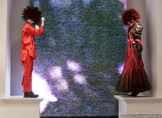 Punk fashion duel at the Metropolitan Museum of Art's Punk: chaos to couture exhibit