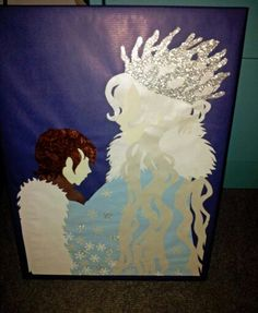 "Gift box fairytale design ""the snowqueen and Kai"" © Katrin Lukas DIY"