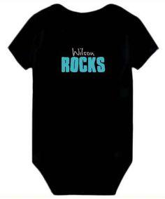 Baby Bodysuit Wilson Rocks