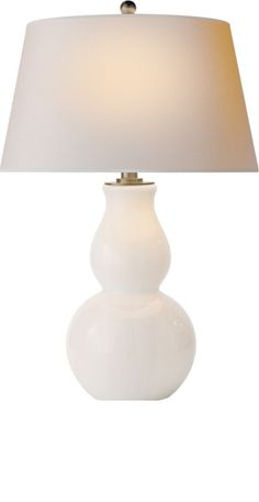 InStyle Decor.com White Table Lamps, Modern White Table Lamps, Contemporary  White