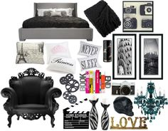 """Bedroom Mood Board"" by naomimjc on Polyvore"