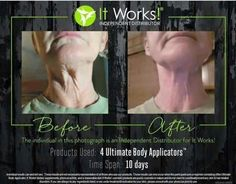 WOW! The results from our WRAPS are AMAZING!!! It Works‼️ Try yours today!  www*mariemillercolorado*com