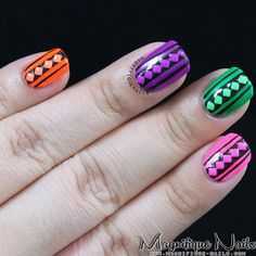 @BornPrettyStoreDaisy: Square Shape Fluorescent Candy Colors Stud Review, check for more here: http://www.magnifique-nails.com/2013/09/born-pretty-store-square-florescent.html Get 10% off your order by using my coupon code: ADBQ10. They offer free shipping worldwide. #nails #nailart #review #studs