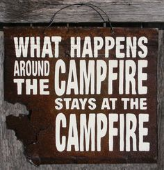 Campfire secrets! - rugged life
