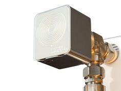 Micropelt iTRV on radiator - EnOcean Home Comforts, Home Automation, Smart Home, Radiators, Wall Lights, Gadgets, Modern, Design, Smart House