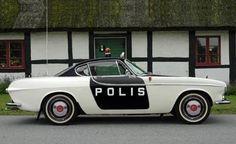 Volvo P1800 S Police Car
