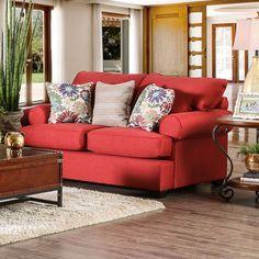 Furniture Of America Rena Love Seat SM1277-LV