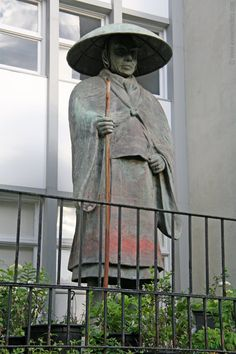 Shinran Shonin statue, New York