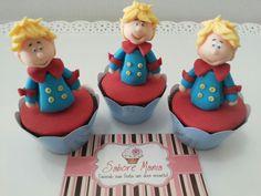 Mini Cupcake 3D - Pequeno Príncipe