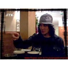 """Synyster Gates ~ Avenged Sevenfold.  I love this part of """"All Access"""""""