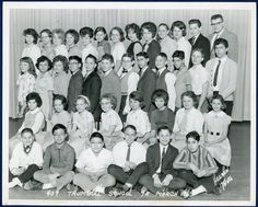 Trumbull School Chicago 7th Grade Class Photograph 1963 Names on Back 8 x 10 (21005) by JacksonsMarket on Etsy