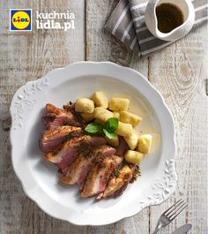 Piersi z gęsi w syropie z cytrusów z gnocchi. Kuchnia Lidla - Lidl Polska. #lidl #kuchnia lidla #gnocchi #ges #goose